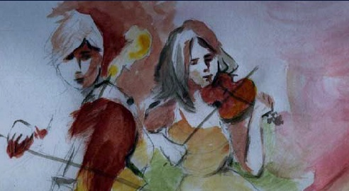 string chamber players